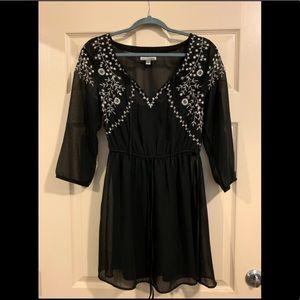 American Eagle Black Summer Dress